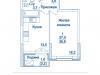 """Схема квартиры в проекте """"Династия""""- #1899568771"""