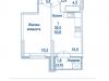 """Схема квартиры в проекте """"Династия""""- #752483136"""