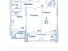 """Схема квартиры в проекте """"Династия""""- #2093826313"""