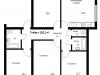 "Схема квартиры в проекте ""Рутаун""- #1450738216"