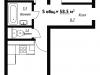 "Схема квартиры в проекте ""Рутаун""- #725642404"